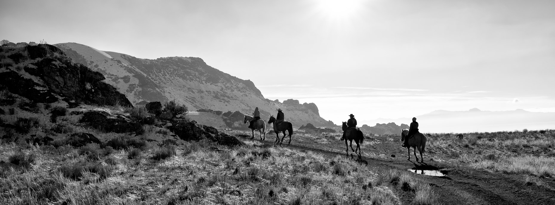 Horsemen on Antelope Island
